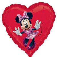 Шарик-сердце Минни Маус