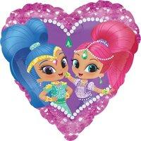 Шарик-сердце с Шиммер и Шайн