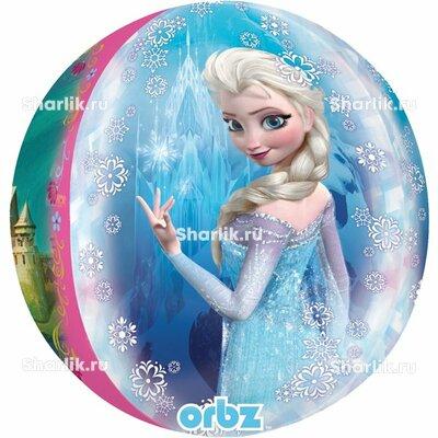Шар 3D-сфера Холодное сердце Эльза и Анна