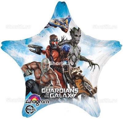 Шарик-звезда с героями Стражи Галактики