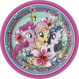 Тарелки с героями Мой маленький пони, 6 шт