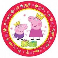 Тарелки Свинка Пеппа, 6 шт