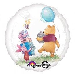 Шарик-круг Винни Пух и друзья на празднике