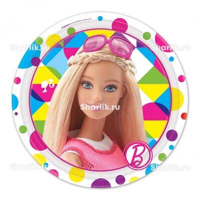 Тарелки с Барби в очках