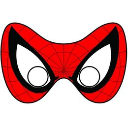 Маски Марвел Человек паук, 6 шт