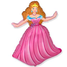 Фигурный шар Принцесса