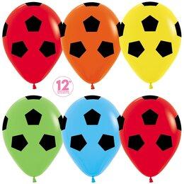 Шары Футбольные мячи - разноцветные