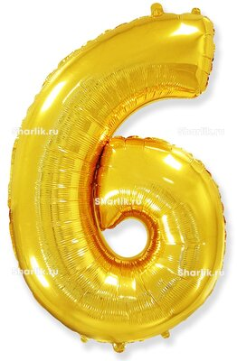 Шар-цифра 6, Золотой