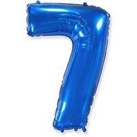 Шар-цифра 7, Синий