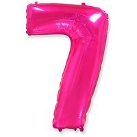 Шар-цифра 7, Розовый