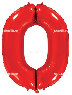 Шар-цифра 0, Красный