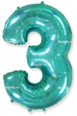 Шар-цифра 3, Тиффани